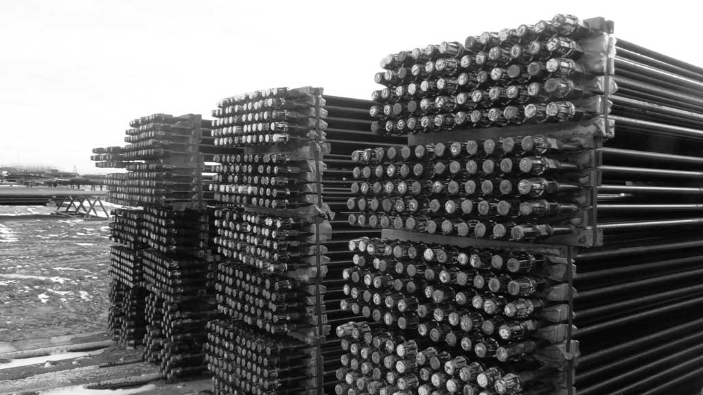 Lloydminster Pipe Yard Storage