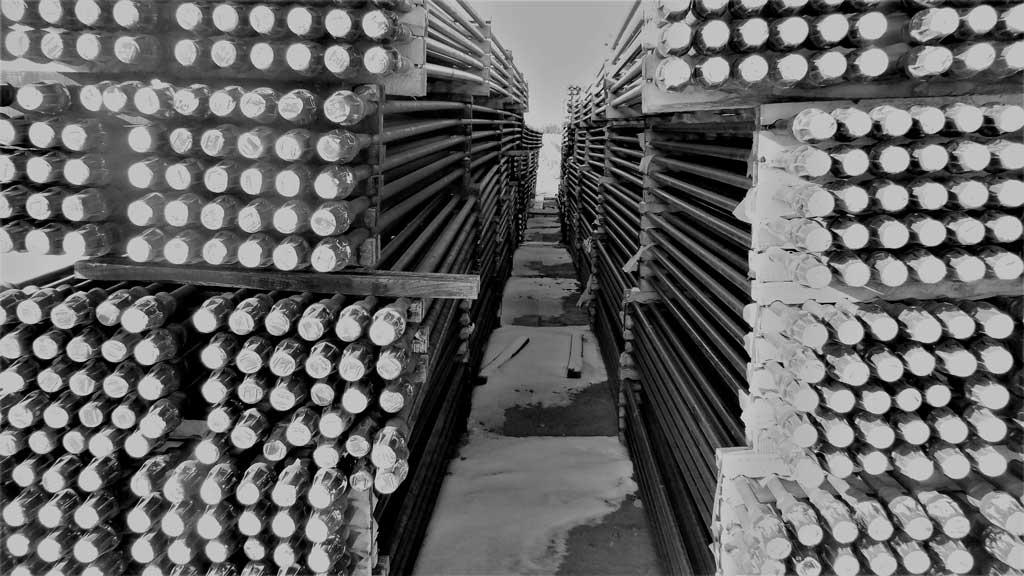 T Bar 1 Lloydminster Pipe storage facility